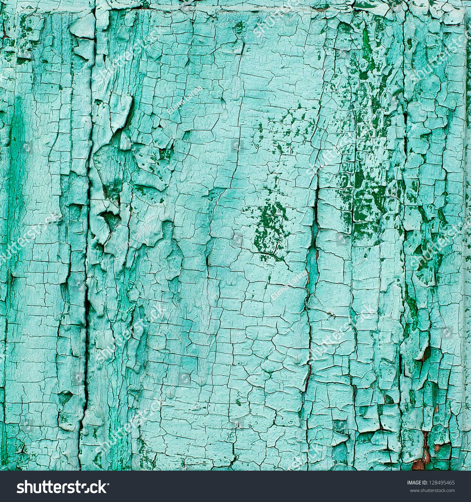 Old Wooden Painted Light Blue Rustic Background Paint
