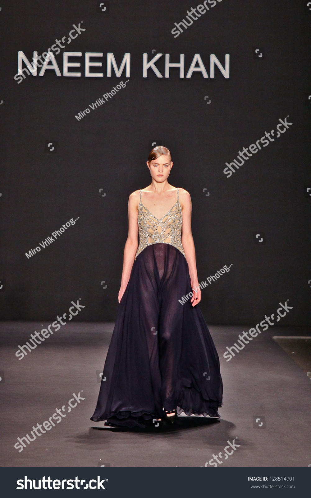 Naeem Khan Mercedes Benz Fashion Week