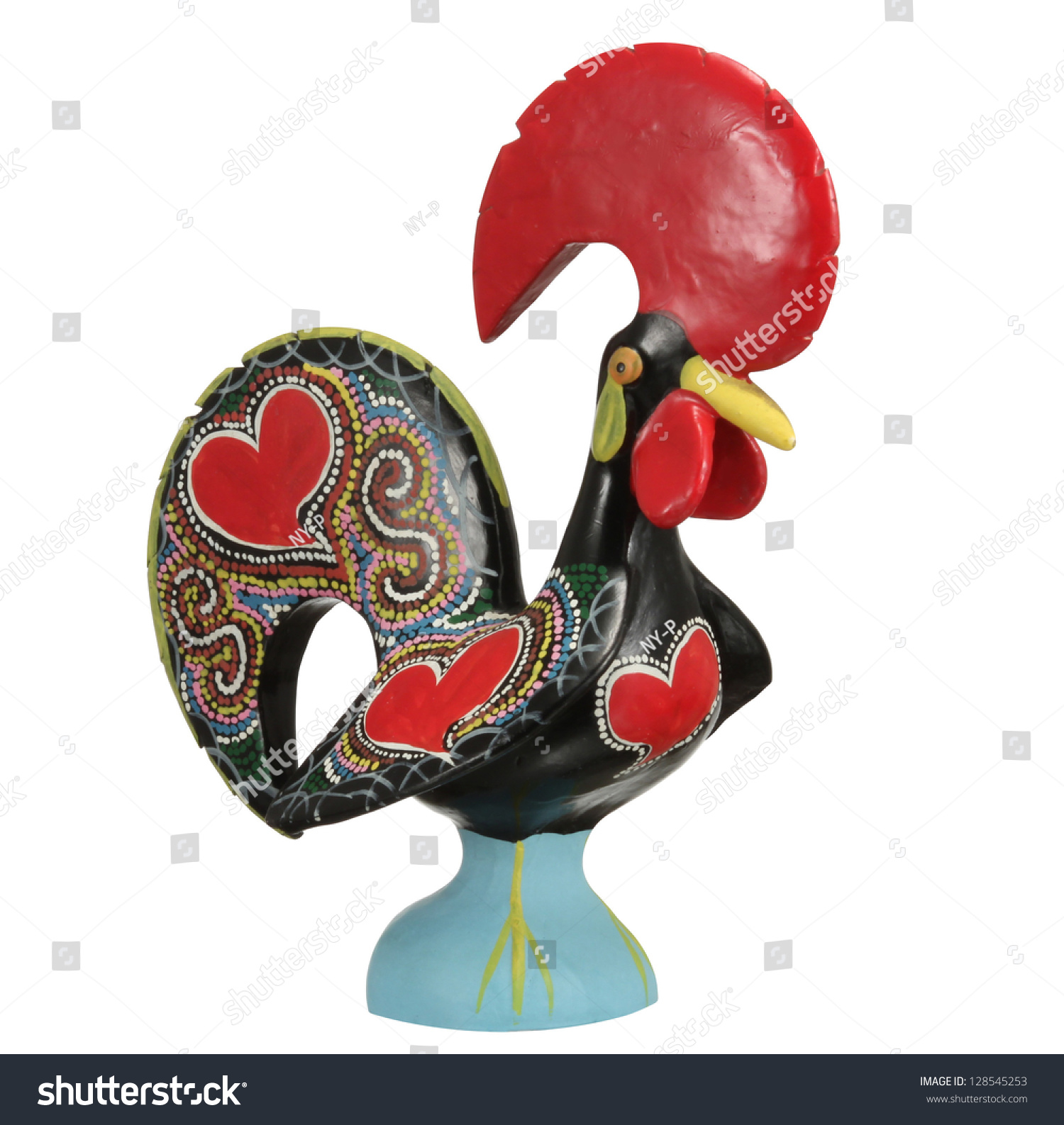 Traditional Ceramic Rooster Symbol Portugal Stock Photo Edit Now