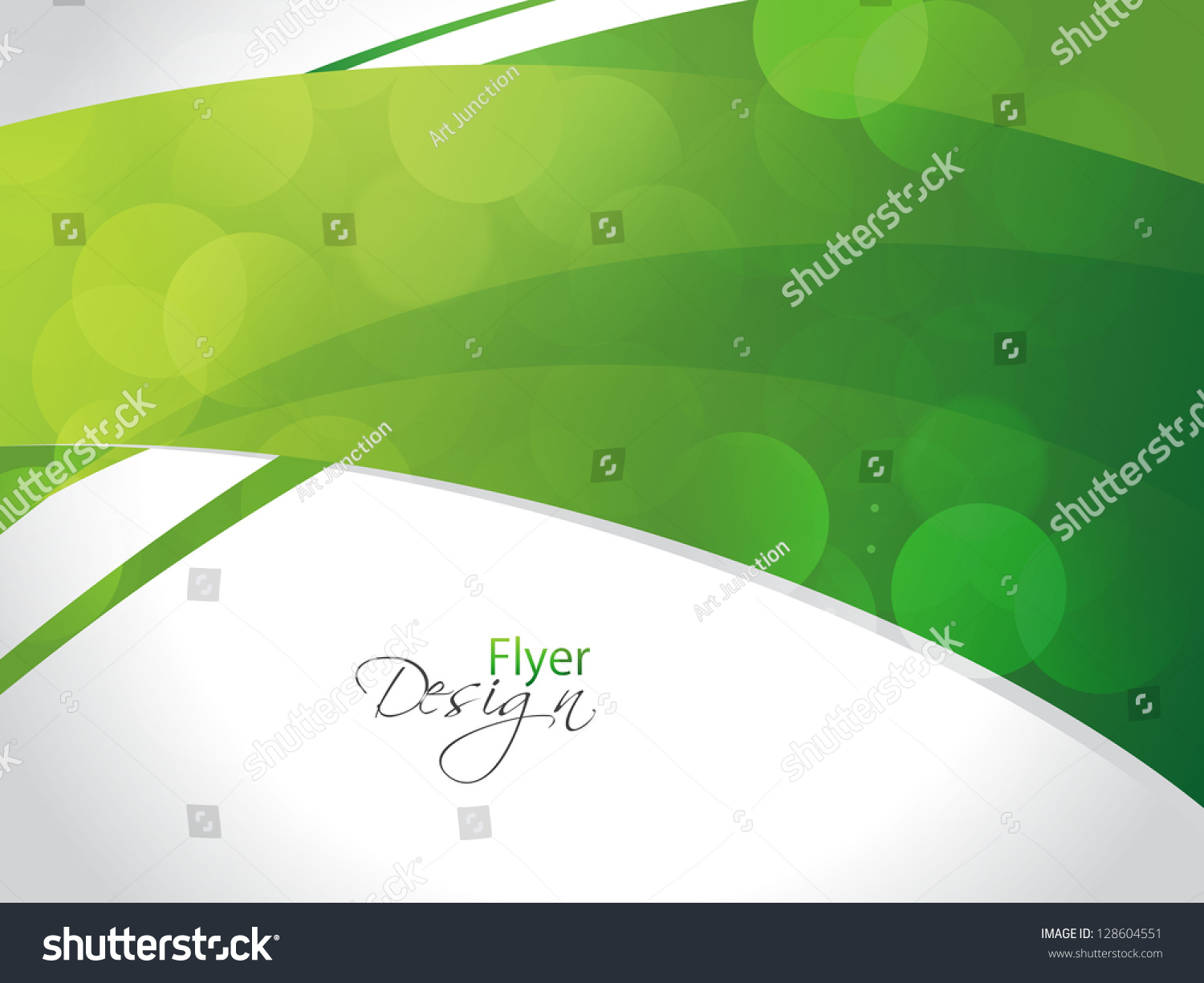 beautiful abstract flyer design cover page stock vector  beautiful abstract flyer design cover page design eps 10