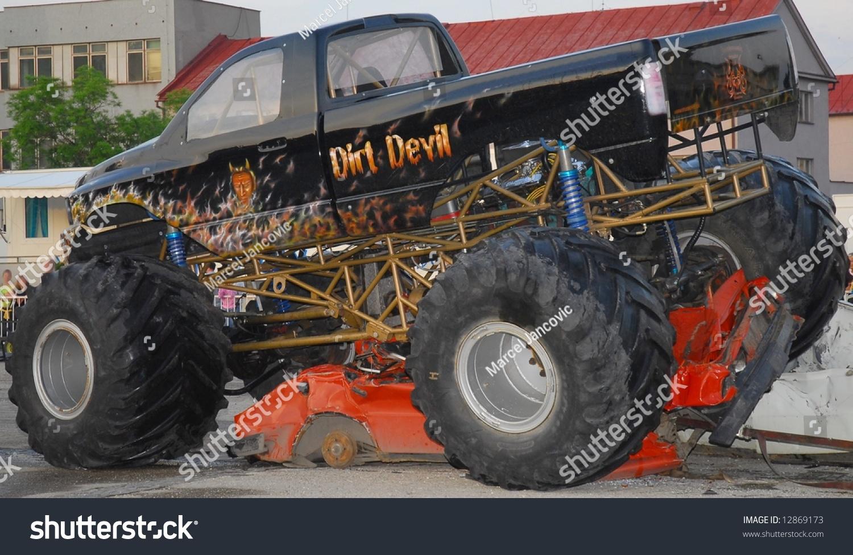 Monster Truck Car Show Stock Photo Edit Now Shutterstock - Monster car show
