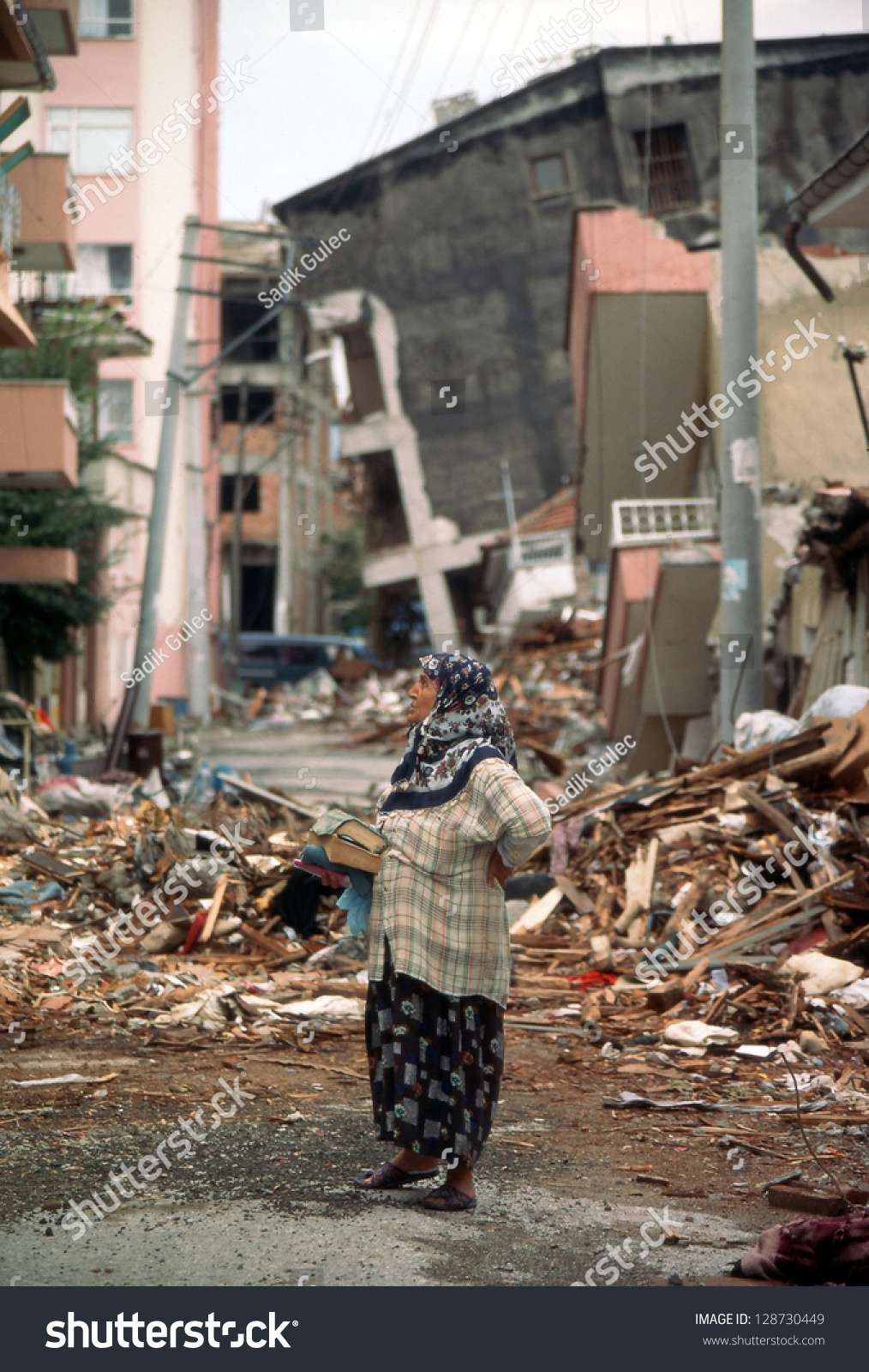Izmit earthquake 1999