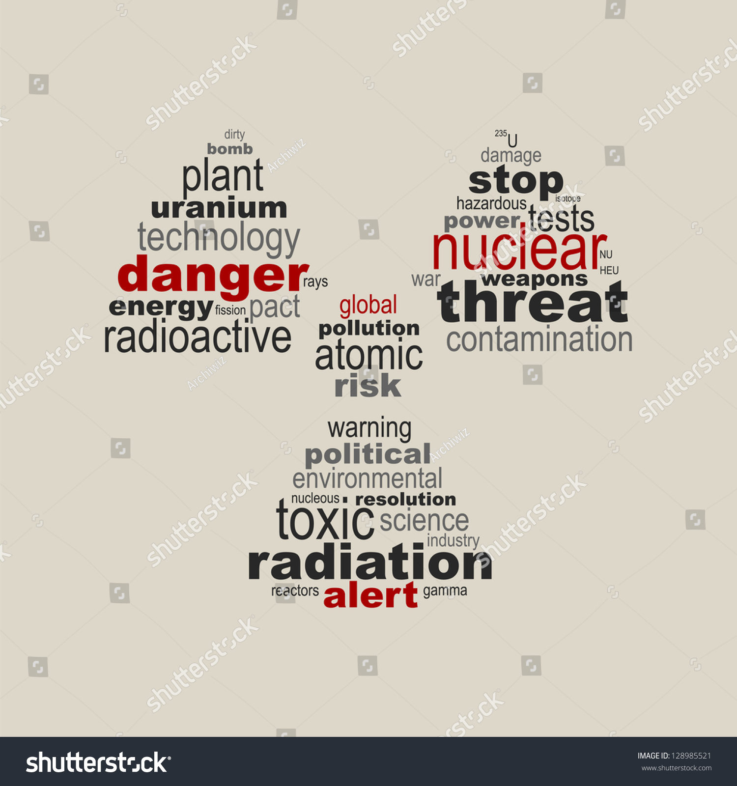 Nuclear symbol concept stock vector 128985521 shutterstock nuclear symbol concept biocorpaavc