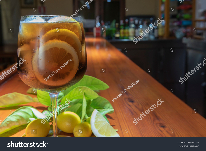 stock-photo-cuba-libre-cocktail-on-a-bar