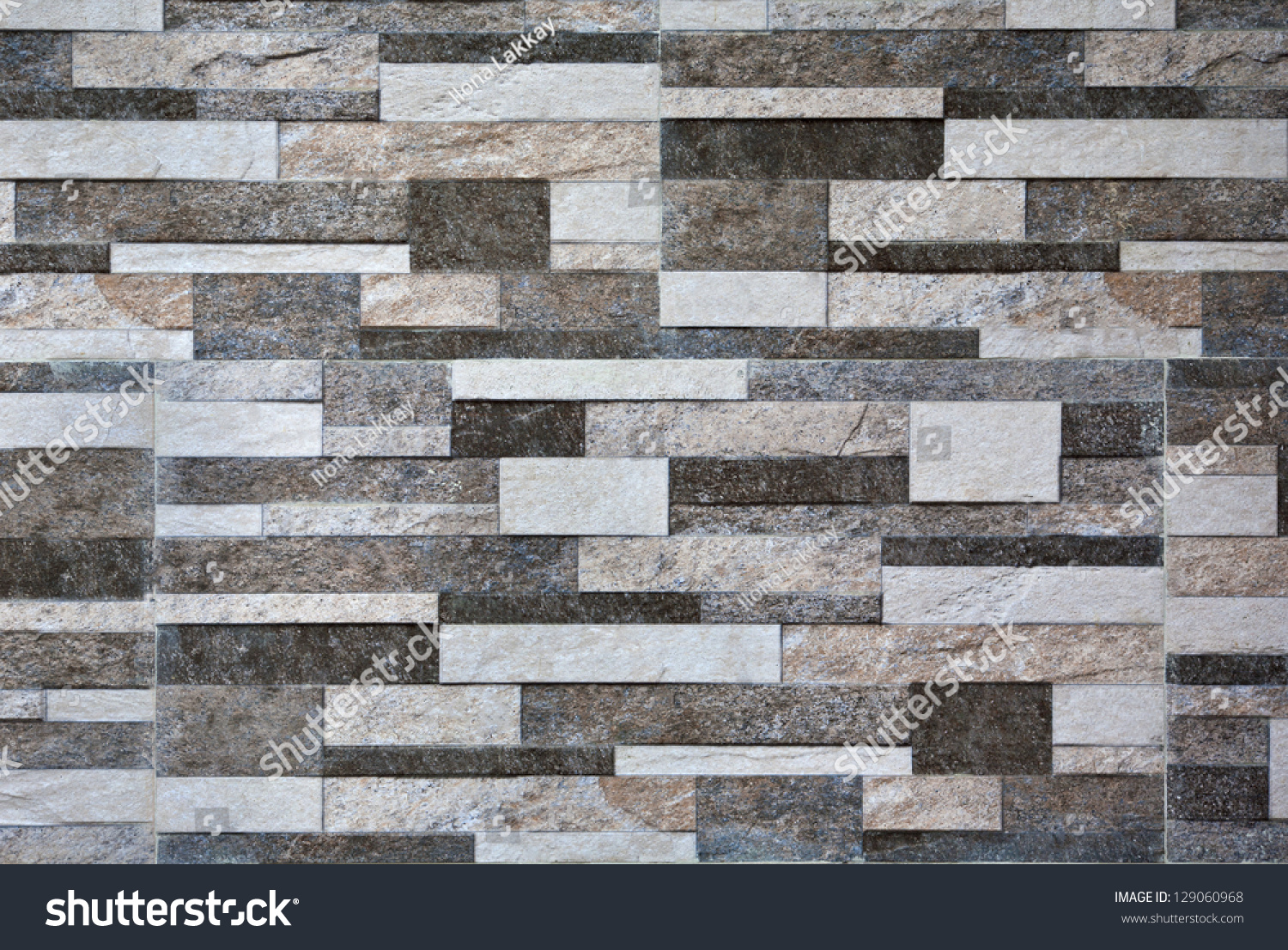royalty-free modern marble stone wall background… #129060968 stock