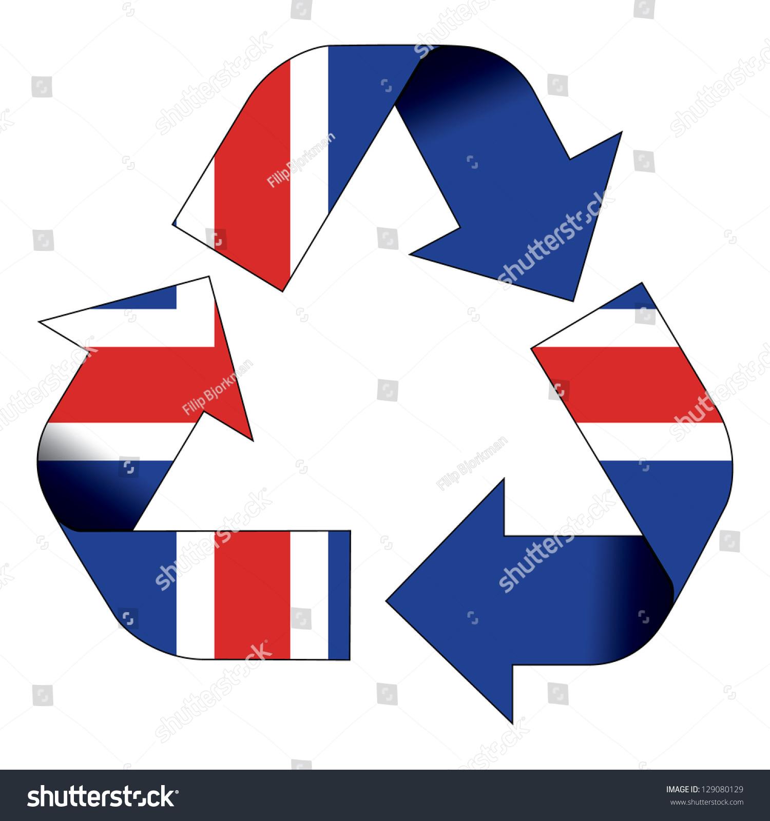 Recycle symbol flag iceland stock illustration 129080129 shutterstock recycle symbol flag of iceland buycottarizona Choice Image