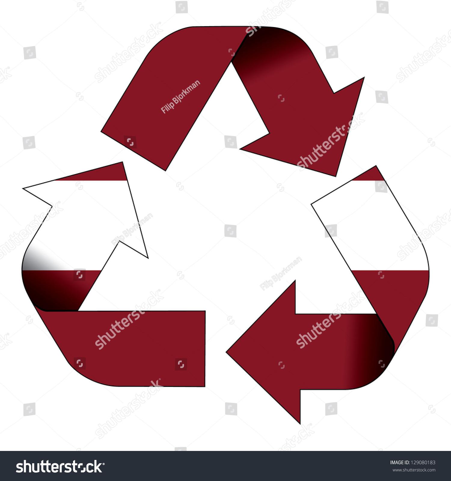 Recycle symbol flag latvia stock illustration 129080183 shutterstock recycle symbol flag of latvia buycottarizona Choice Image