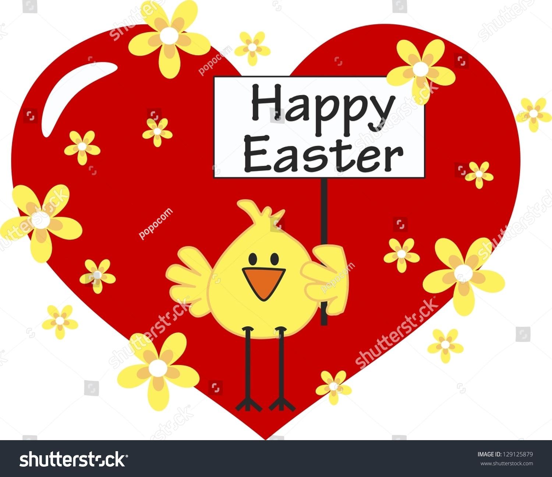 Happy Easter Stock Vector 129125879 - Shutterstock
