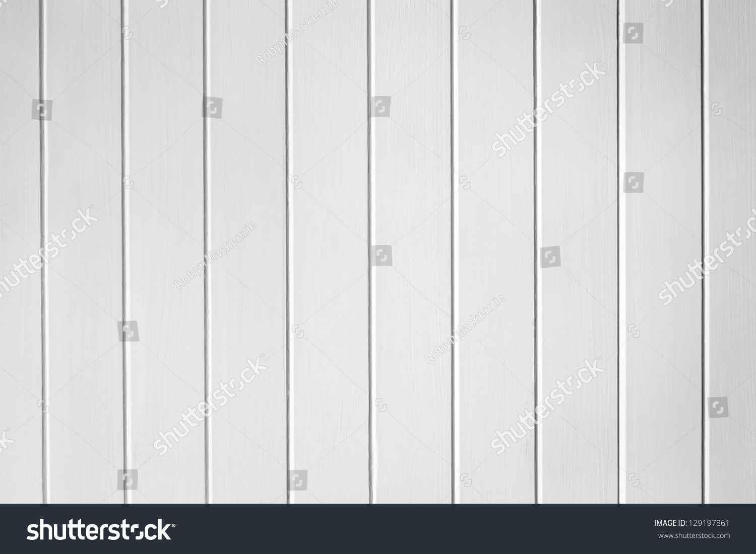 White Wood Panel Paneling Panelling Texture Stock Photo