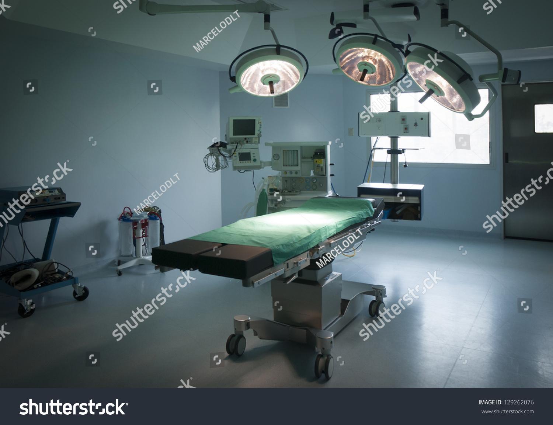 Modern hospital operating room - Modern Operating Room In Hospital