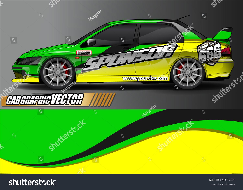 Race Car Livery Wrap