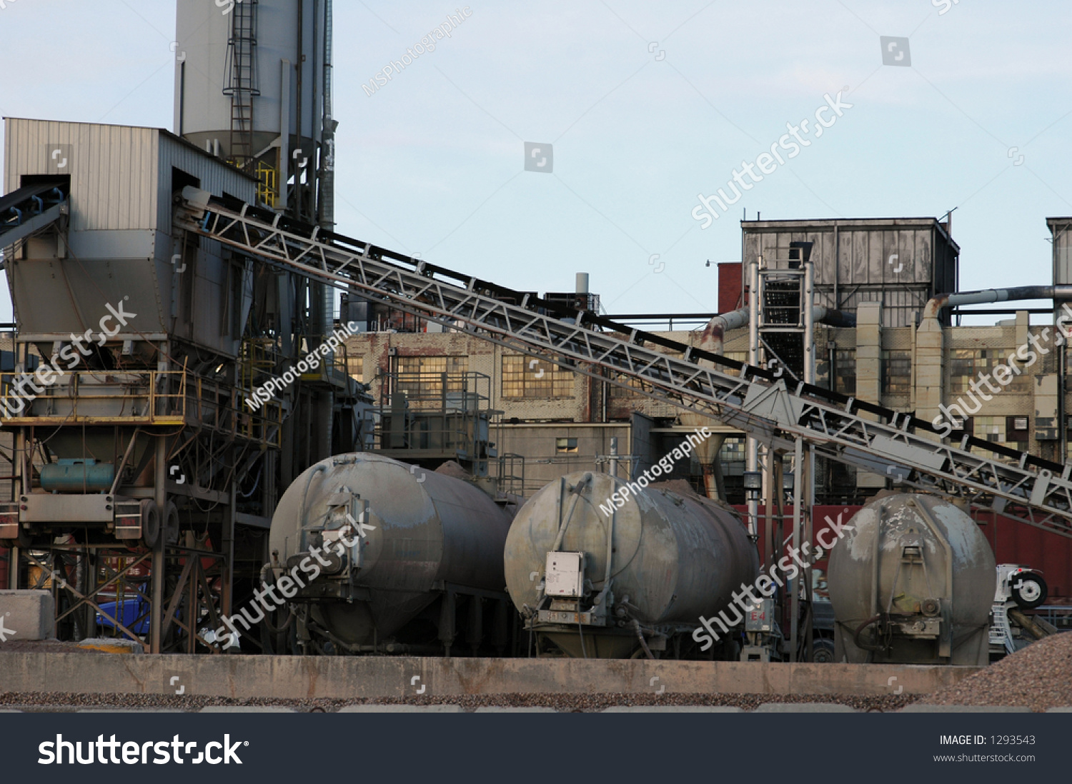 Cement Manufacturing Plants : Cement plant abandoned manufacturing background