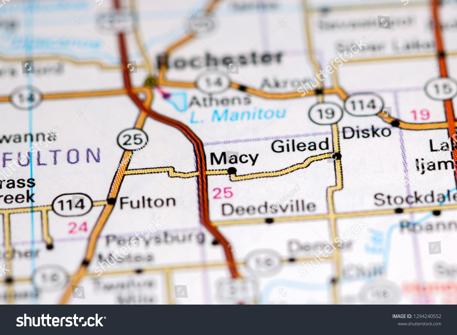 Macy Indiana Usa On Map | Royalty-Free Stock Image on eastern time zone map, central time zone map, bloomington map, bunker hill map, fremont map,