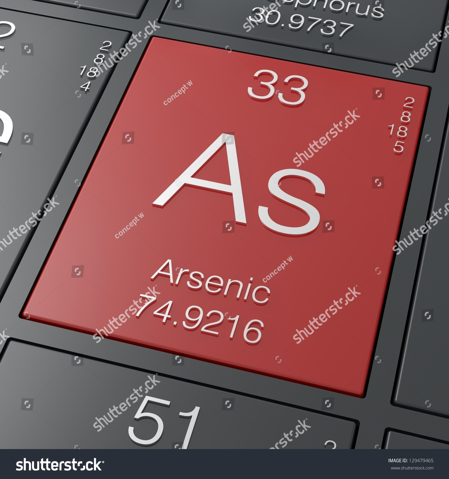 Arsenic element periodic table stock illustration 129479465 arsenic element from periodic table biocorpaavc Image collections