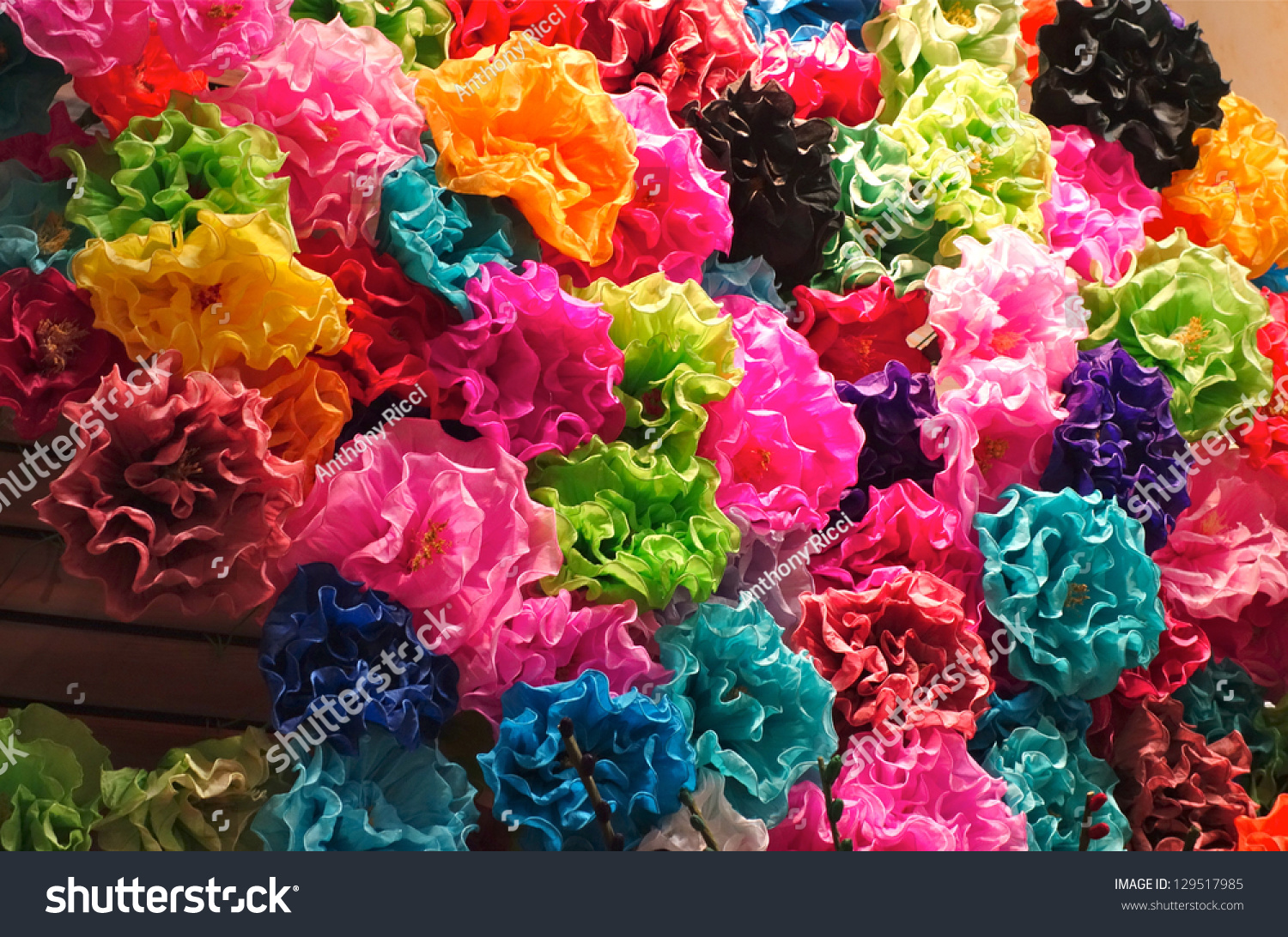 Mexican Paper Flowers Stock Shutterstock