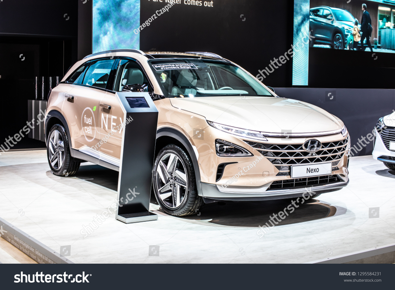 Brussels Belgium Jan 18 2019 Hyundai Stock Photo (Edit Now