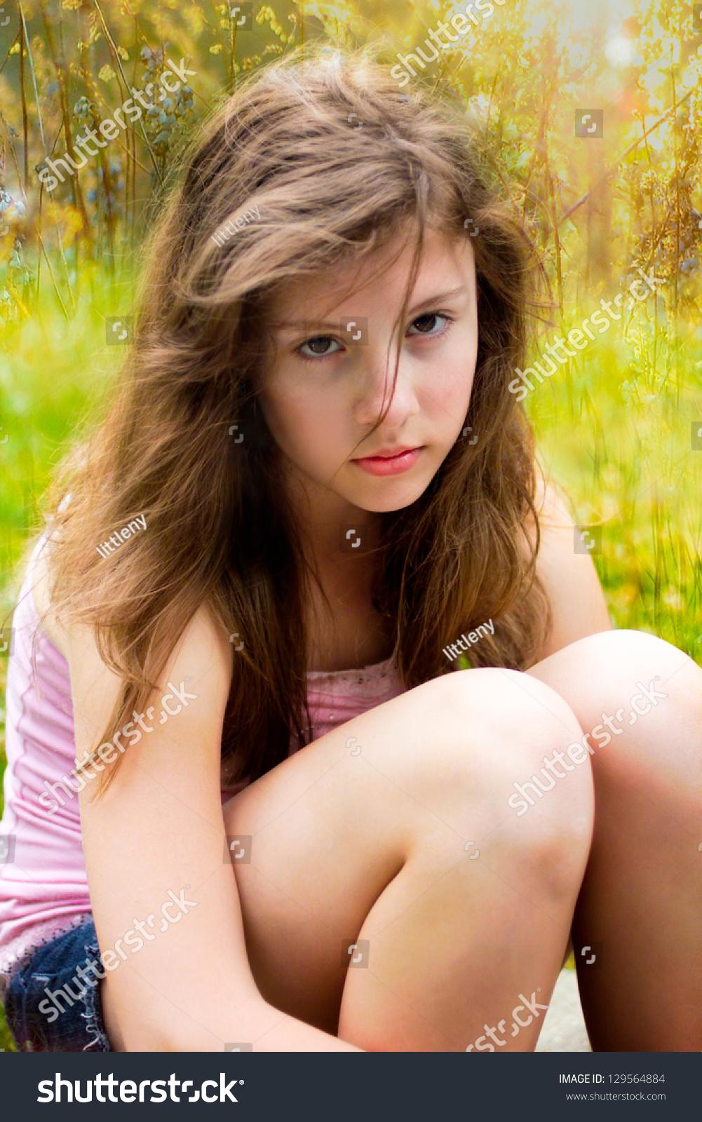 Pretty Teen Girl Stock Photos Royalty Free Pretty Teen