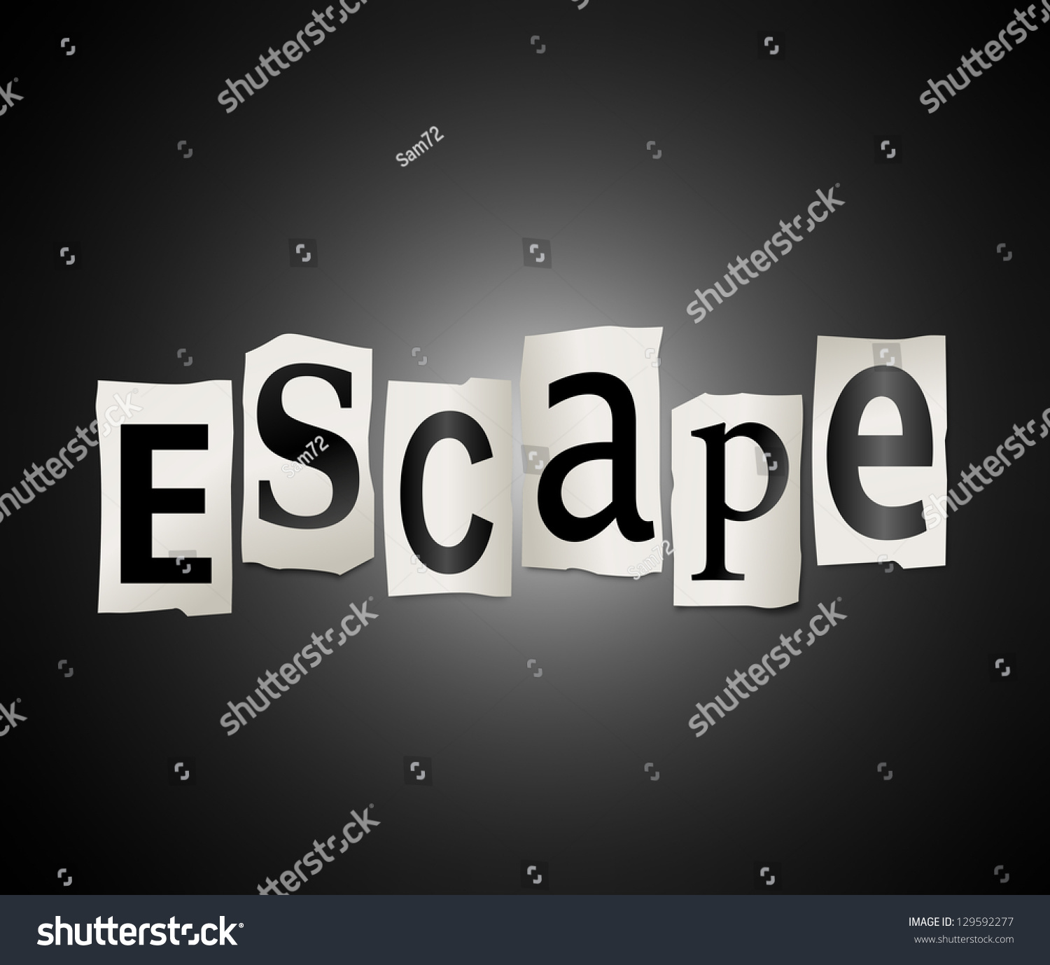 Escape Or Avoid  Letters