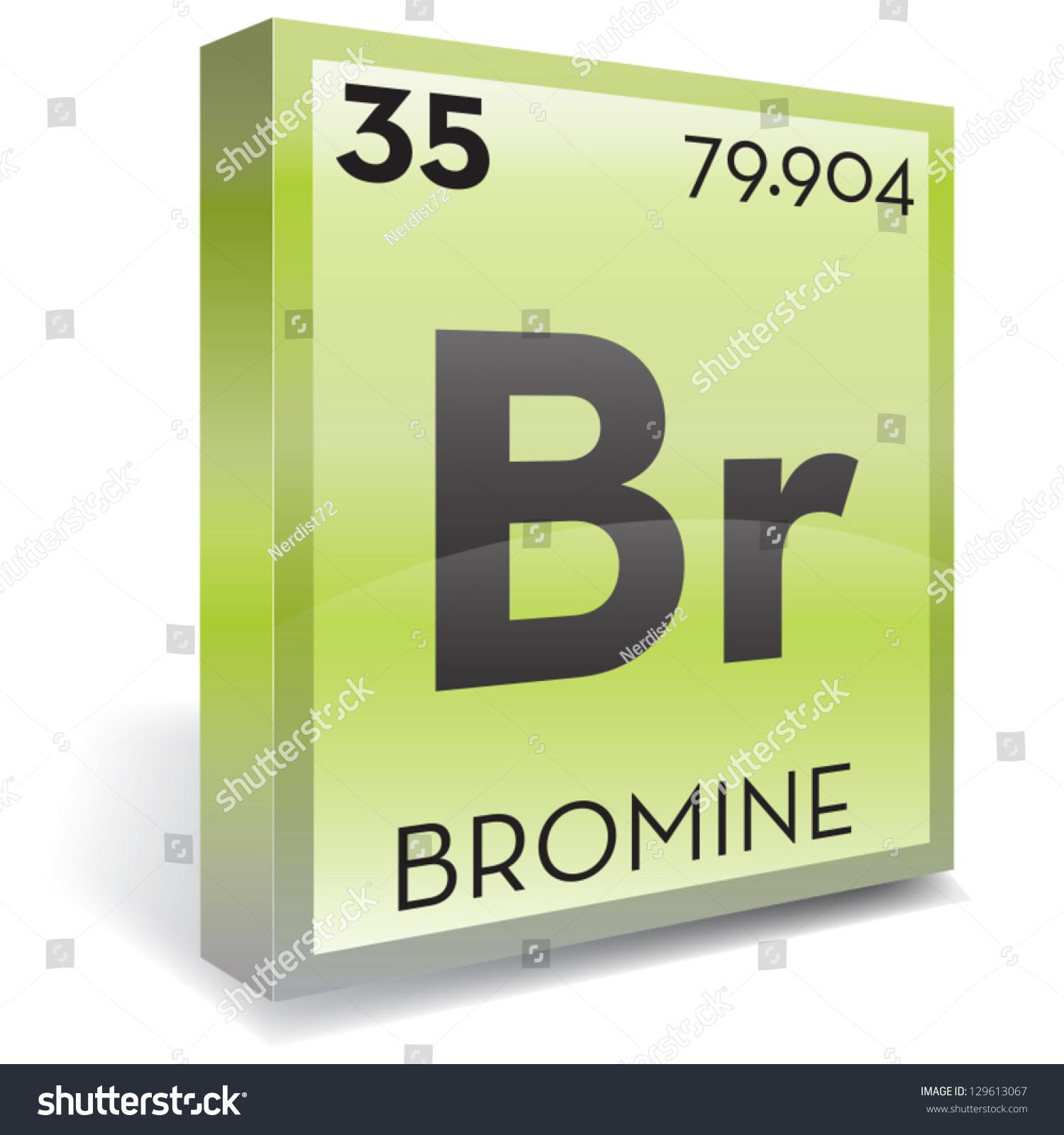 Bromine element stock vector 129613067 shutterstock bromine element biocorpaavc