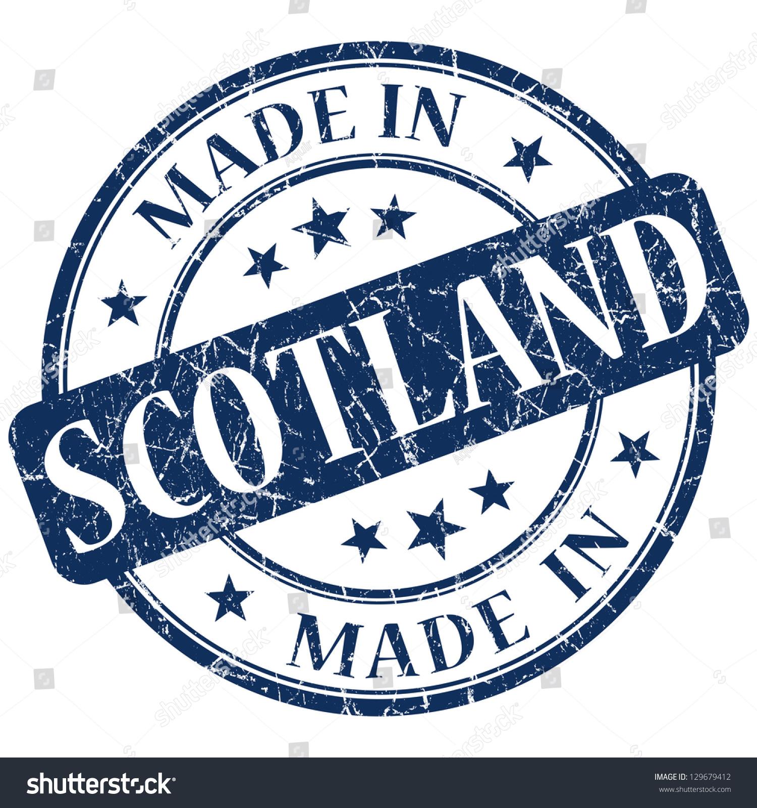 Scotland stamp — Stock Vector © roxanabalint #33220371