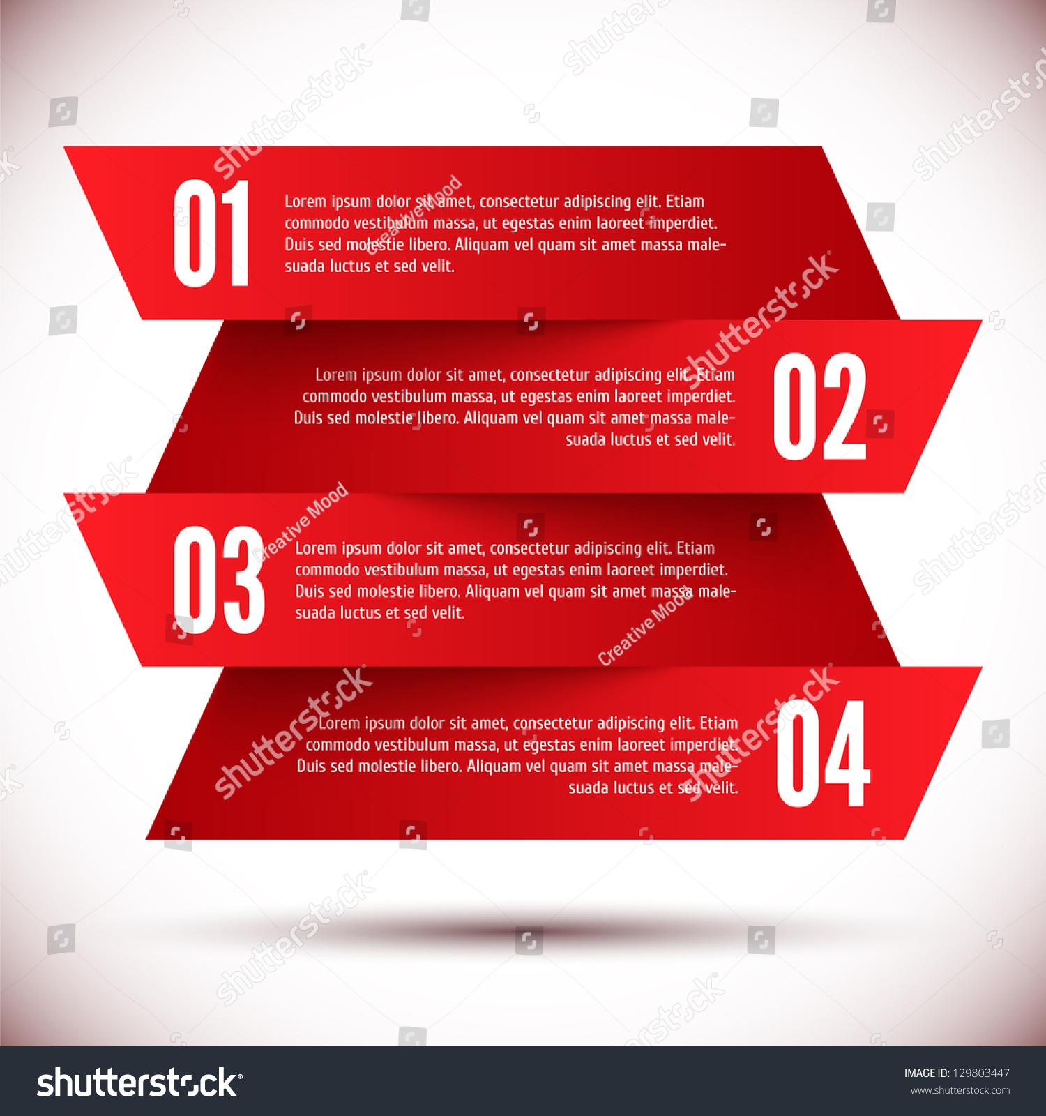 Banner Design Template Stock Vector 129803447 - Shutterstock