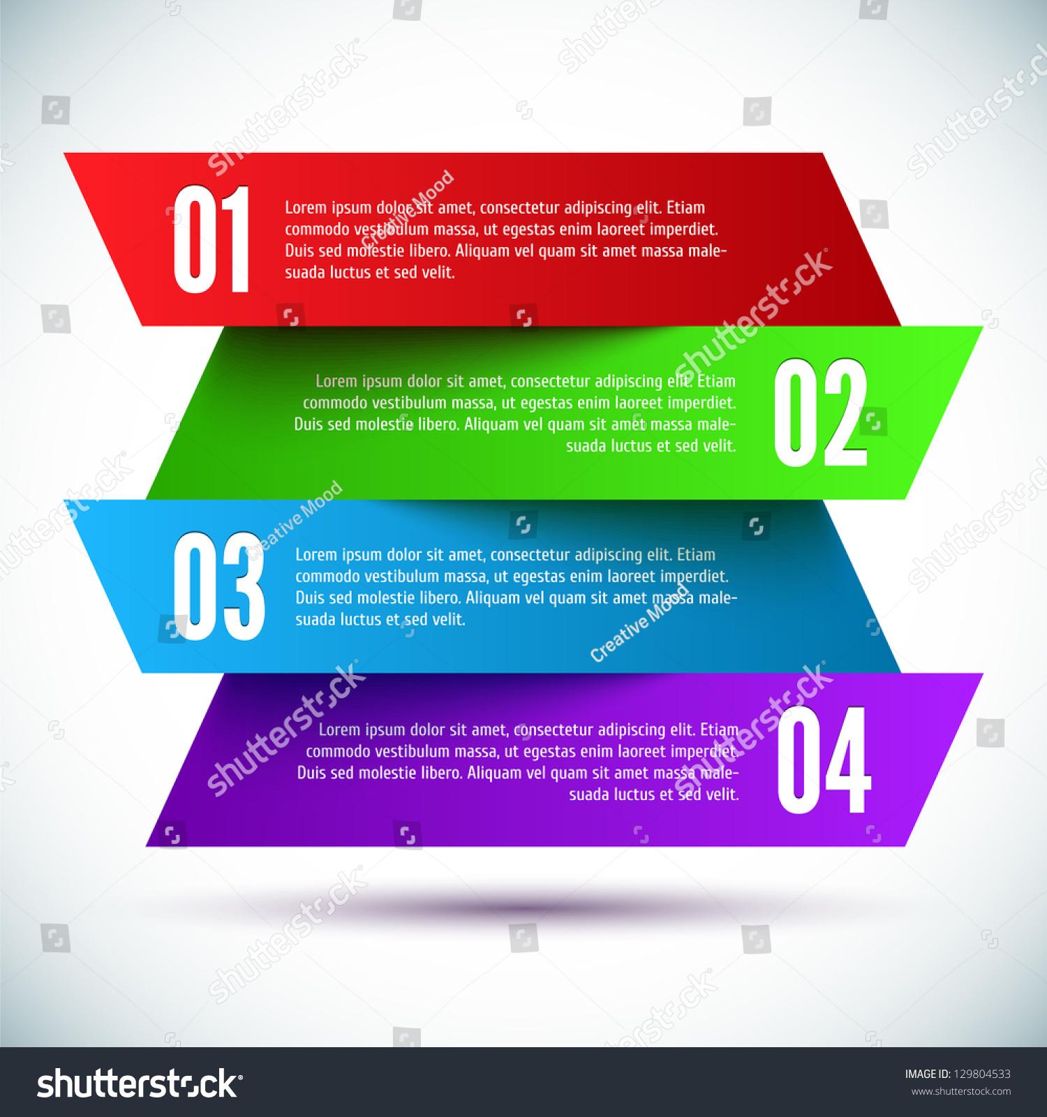 Banner Design Template Stock Vector 129804533 - Shutterstock