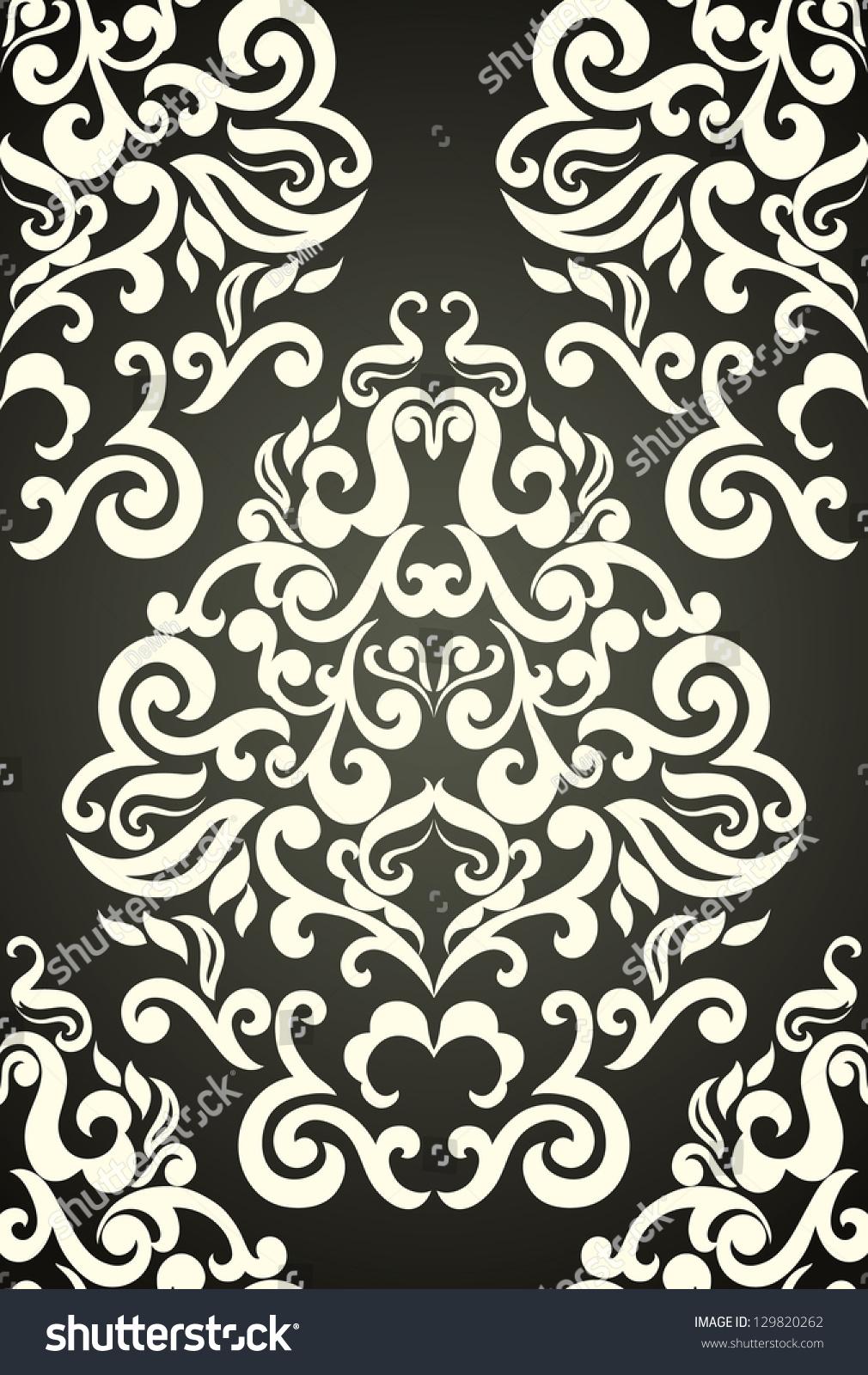 damask wallpaper glamorous and elegant - photo #27