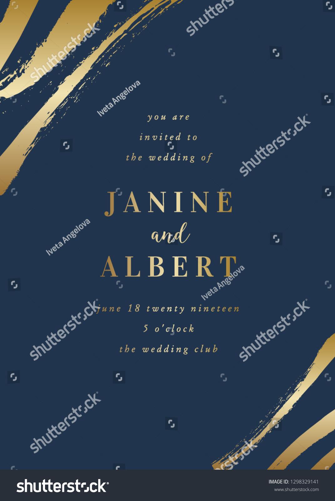 Sample Wedding Invitation Design