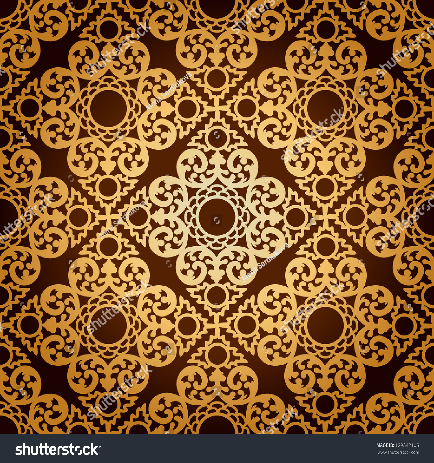 Gothic Pattern Wallpaper seamless pattern backgroundclassic gothic floral wallpaper stock