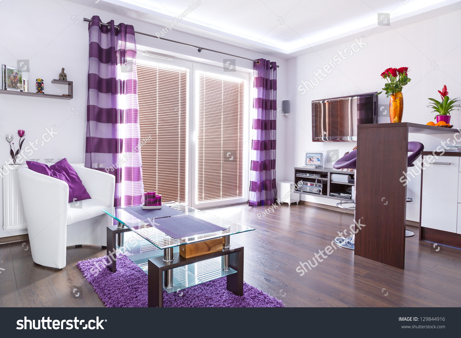 Themed Living Room Purple Themed Living Room Yes Yes Go