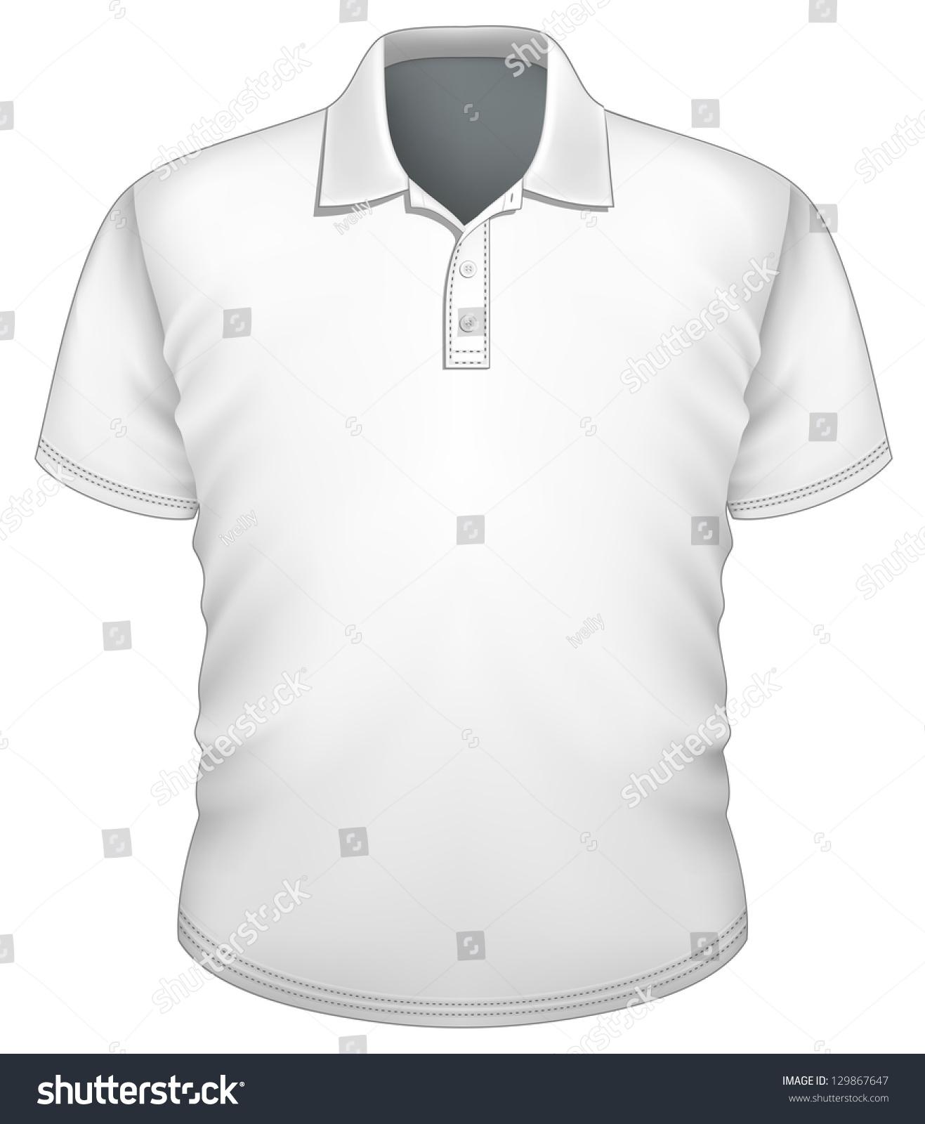 Polo shirt design vector - Vector Men S Polo Shirt Design Template Front View
