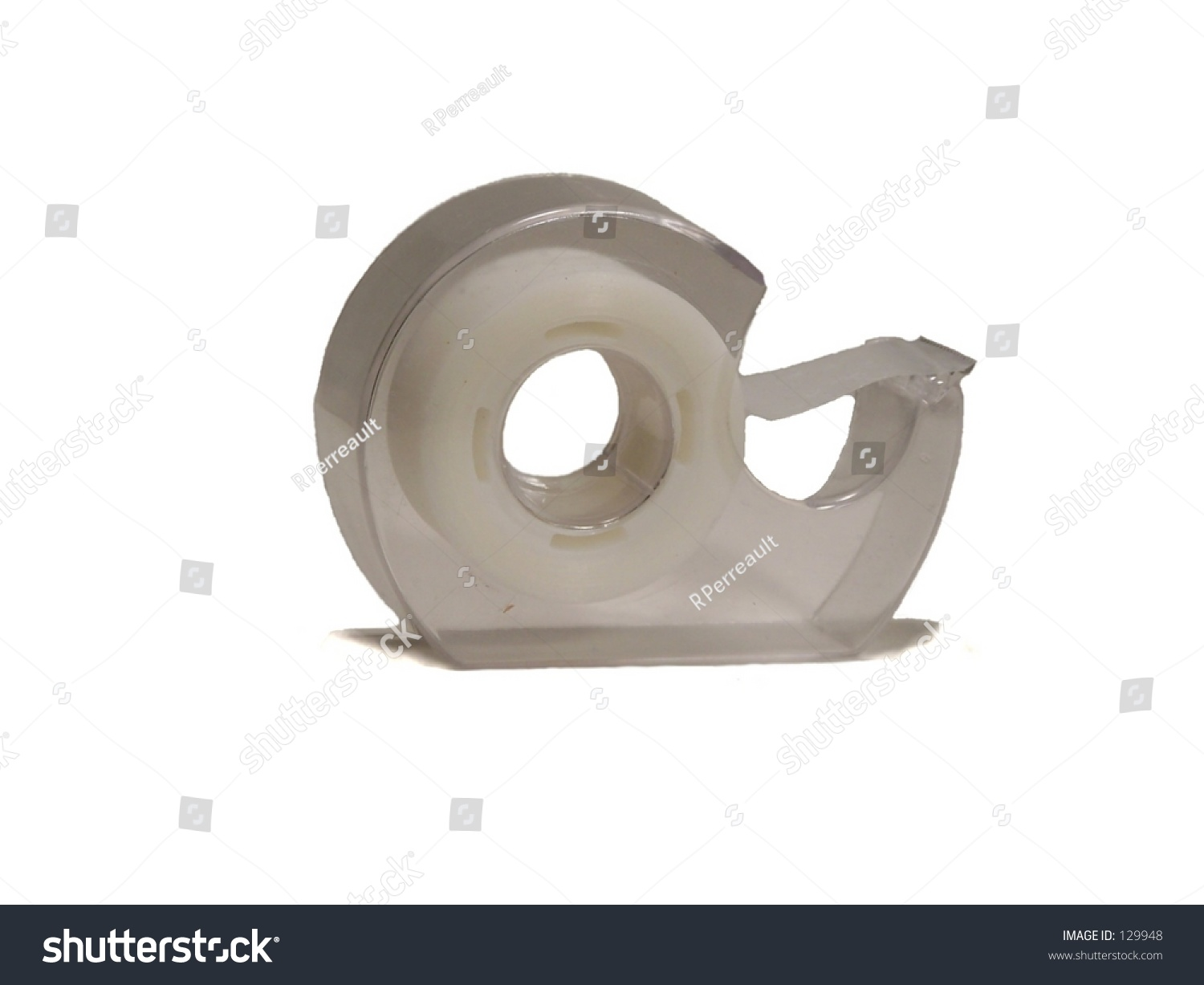 plastic scotch tape dispenser