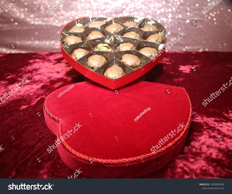 Valentines Day Marijuana Red Velvet Heart Stock Photo Edit Now 1300800580