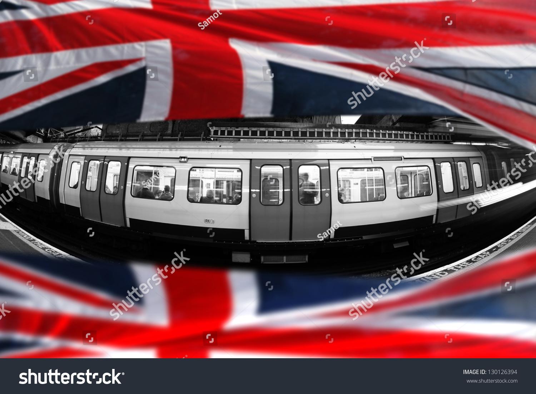 London Underground Flag England Stock Photo 130126394 - Shutterstock