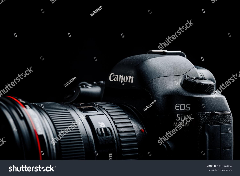 Studio Shot Canon 5d Mark Iv Stock Photo (Edit Now) 1301362084