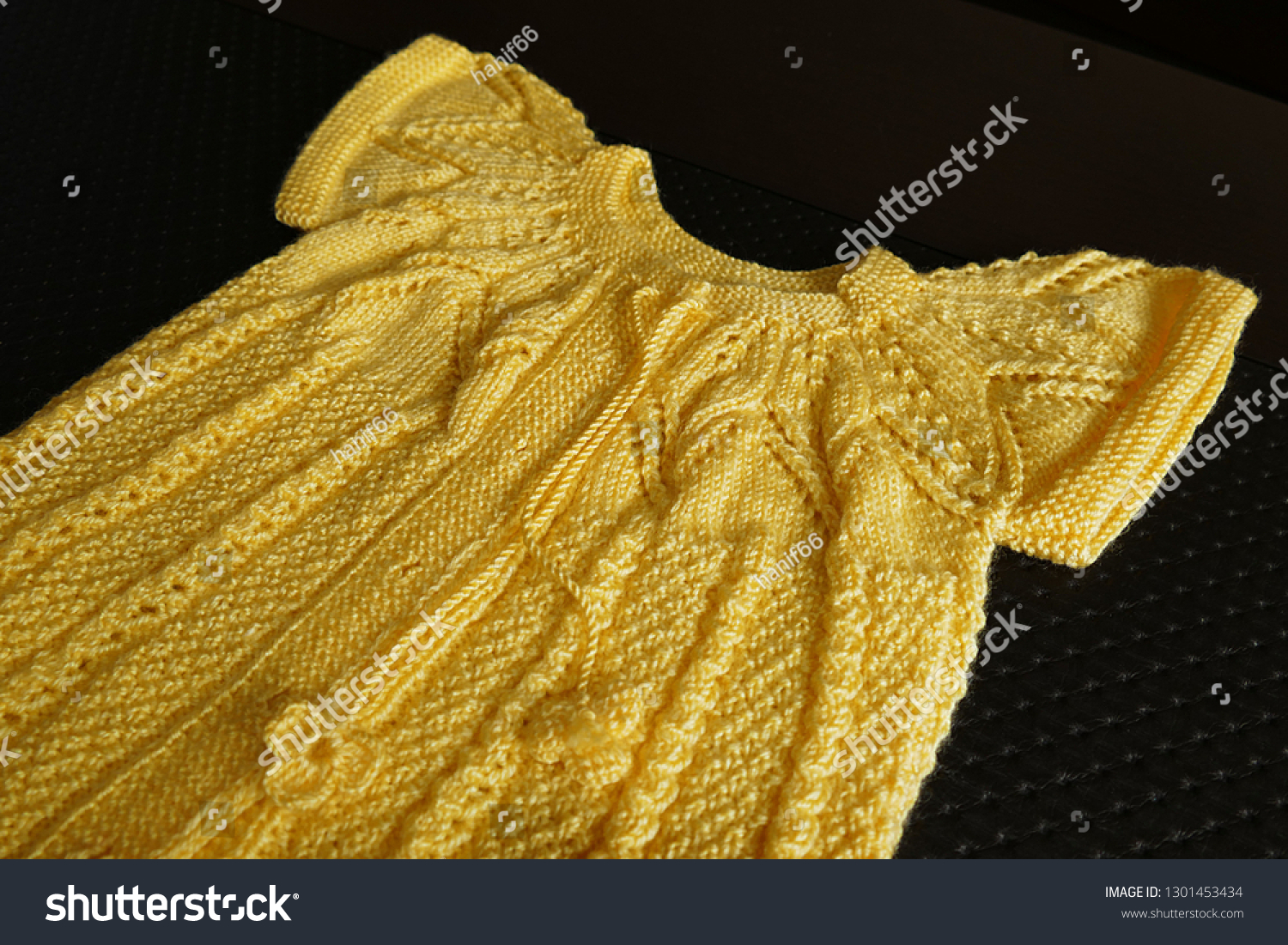 Hand Knitted Childrens Dress Turkish Handcraft Stock Photo Edit Now