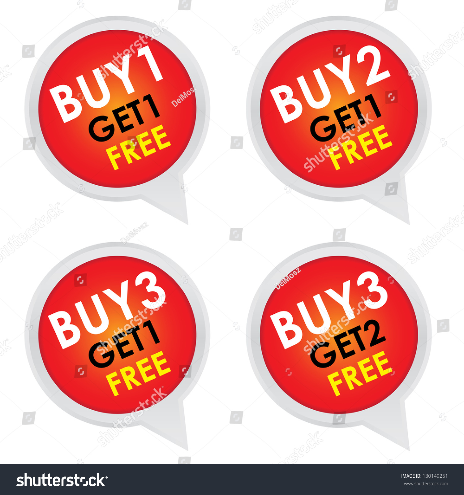 How To Buy Stocks For Free Sticker Or Label For Marketing Campaign Buy 1 Get