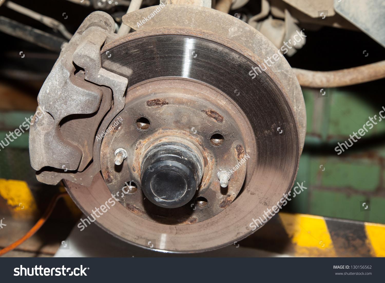 Wheel hub motor car repair situation stock photo 130156562 Motor vehicle repair