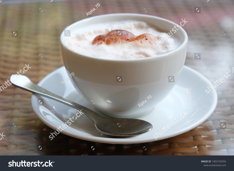 Cappuccino Italian Pronunciation Espresso Based Coffee Stock