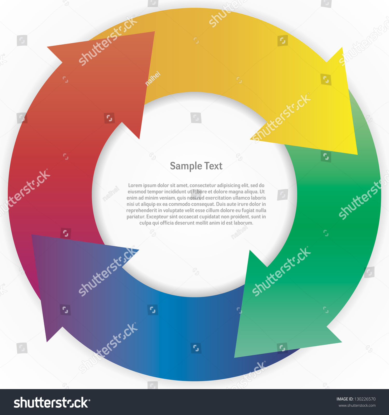 Abstract color wheel life cycle diagram stock vector 130226570 abstract color wheel life cycle diagram vector pooptronica Choice Image