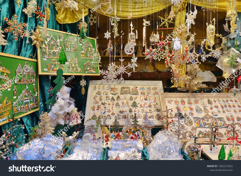 Chicago Christmas Market.Chicago Il 5 Dec 2018 View Stock Photo Edit Now 1302272452