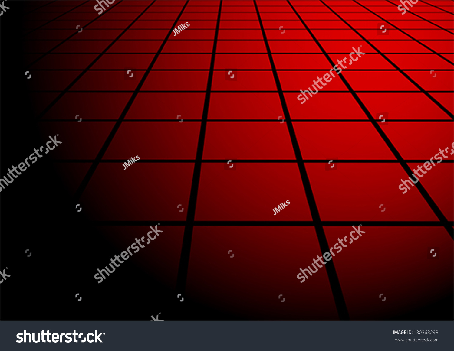 Abstract red floor tiles on black stock vector 130363298 abstract red floor tiles on black background dailygadgetfo Choice Image
