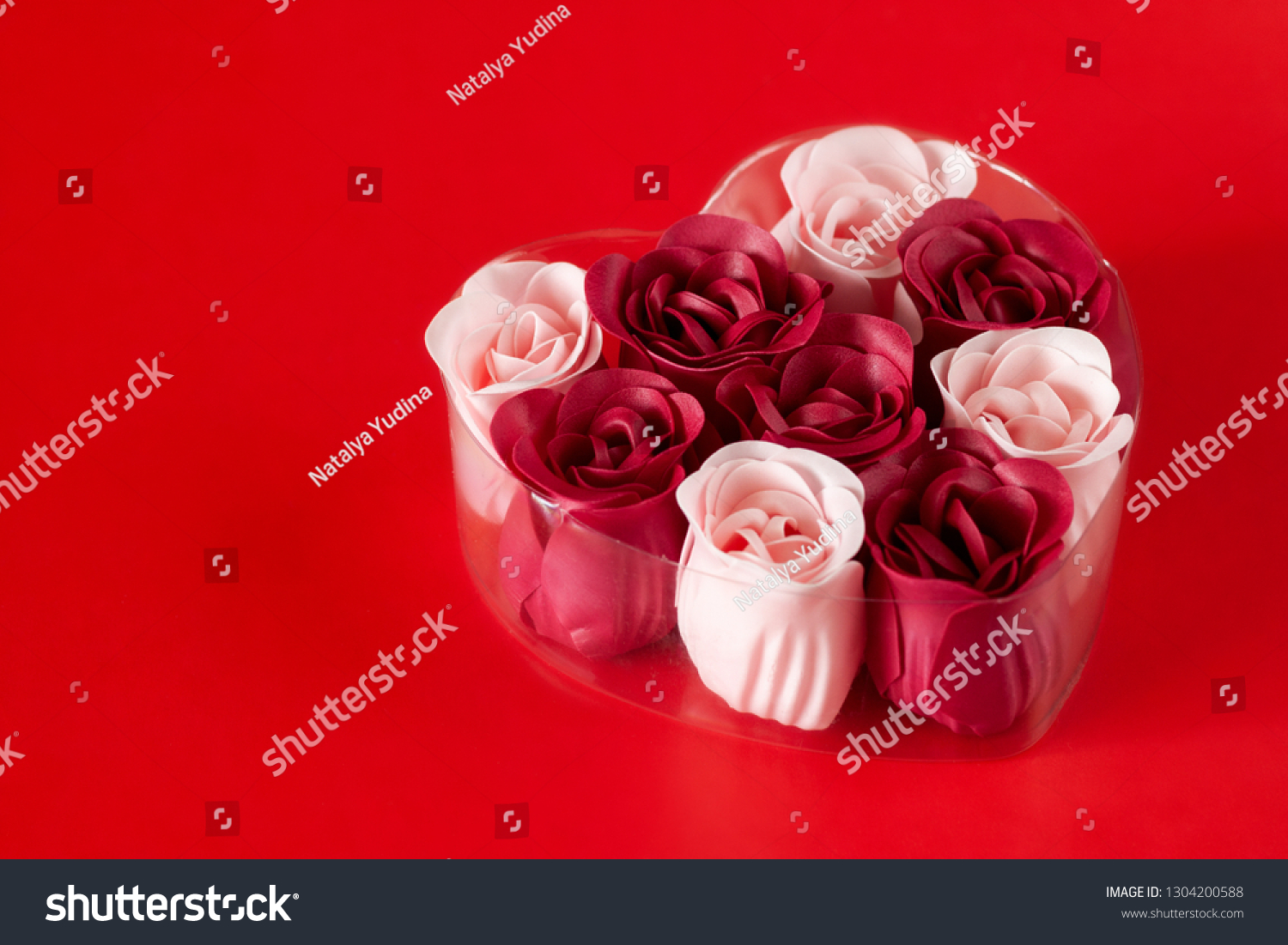 Gift Set Soap Valentines Day Spa Stock Photo Edit Now 1304200588