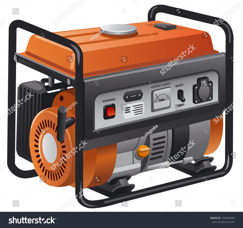 Power Generator Stock Vector 130440359 Shutterstock
