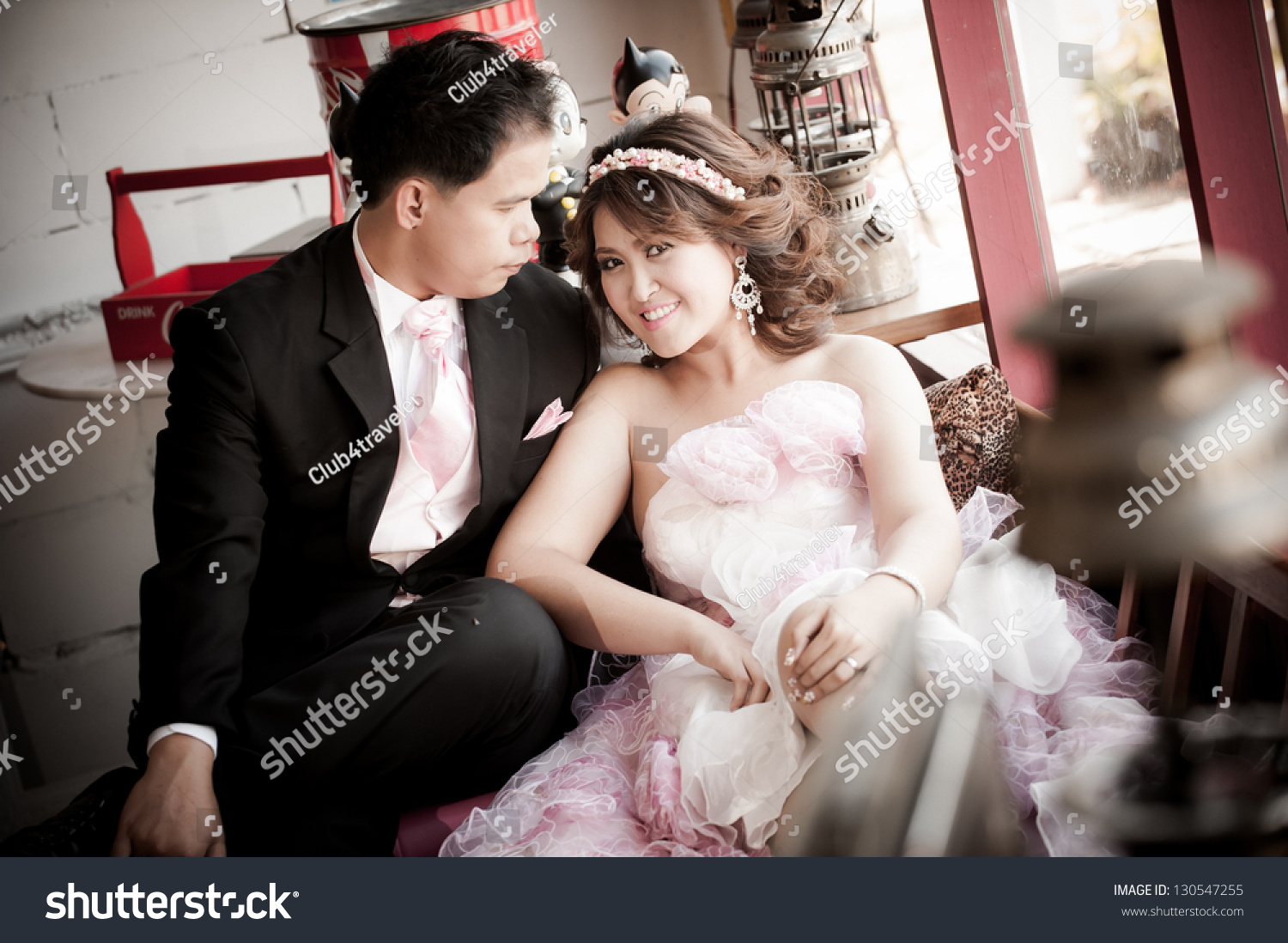 stock photo the portrait of thai bride and groom 130547255 Four Reasons People Switch from the Competitor to Thai Mailorder Bride.