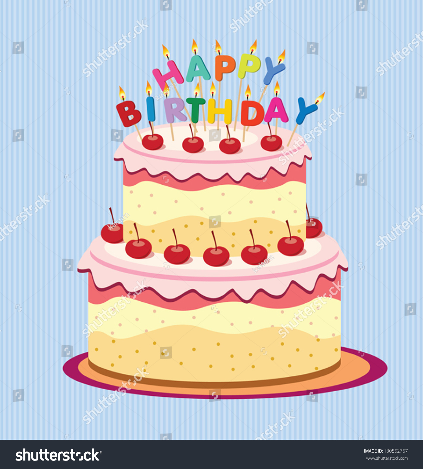 Happy Birthday Cake Card Vector Free Happy Inspiring Birthday – Happy Birthday Cake Greetings