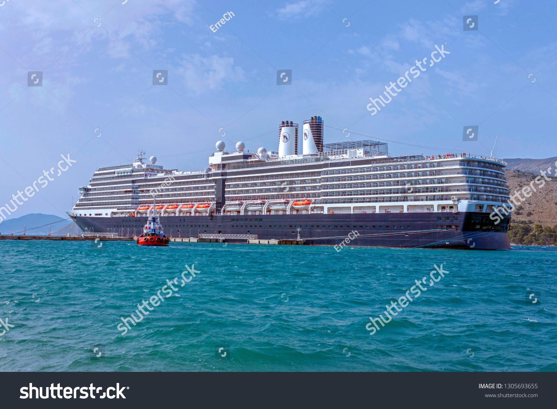 Argostoli Kefalonia Greece 20062016 A Cruise Stock Photo