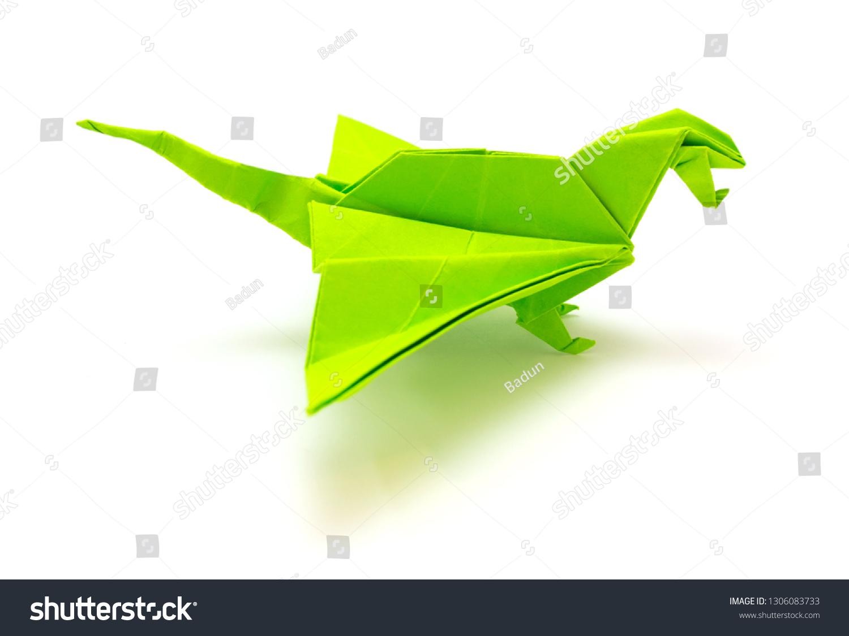 late night origami dragon | words of joe | 1125x1500