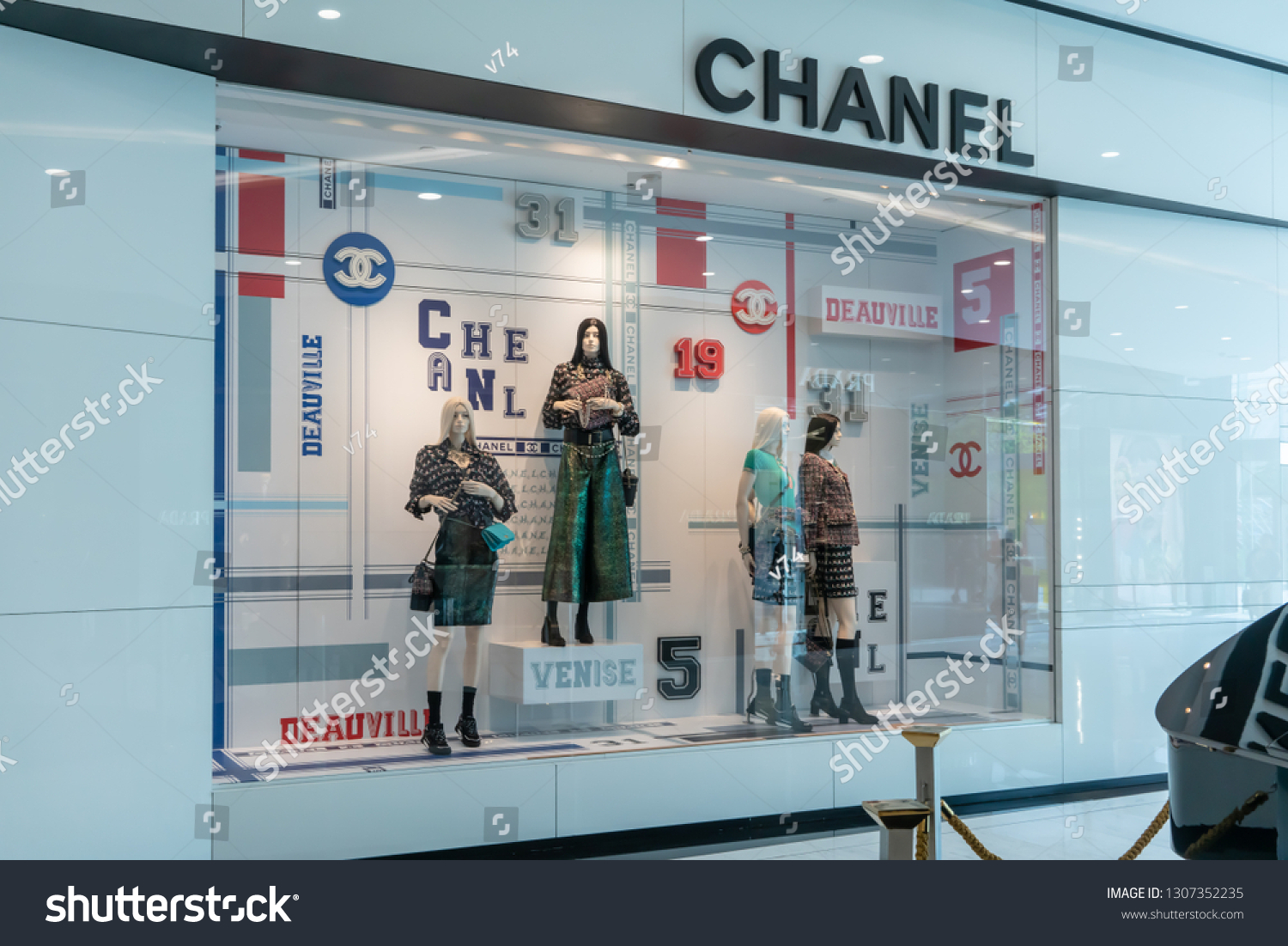 cf6b0b845c7 Chanel Shop Emquatier Bangkok Thailand Feb Stock Photo (Edit Now ...