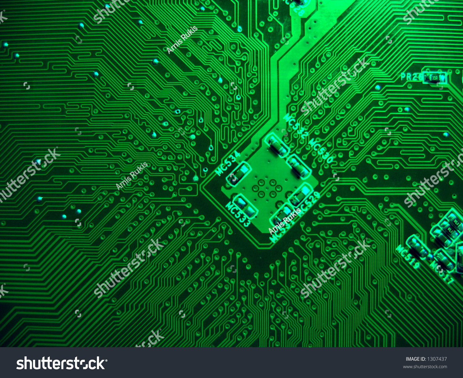 Printed Circuit Board Computer Motherboard Stock Photo Edit Now Photos Images Pictures Shutterstock
